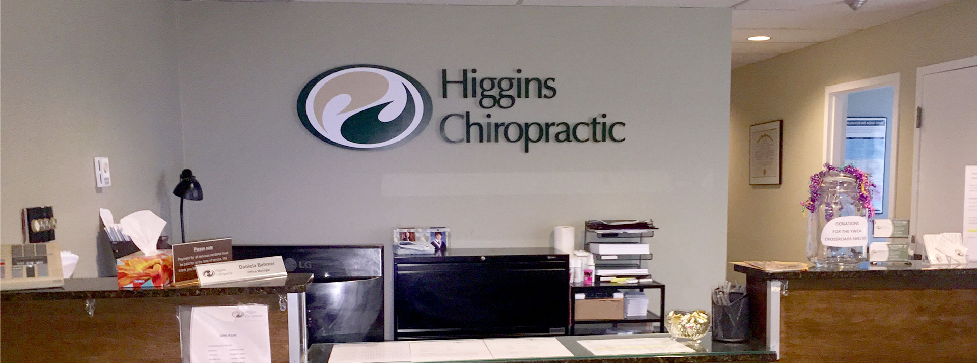 Discover Higgins Chiropractic...